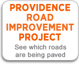 Providence Road Improvement Project - See which roads are being paved